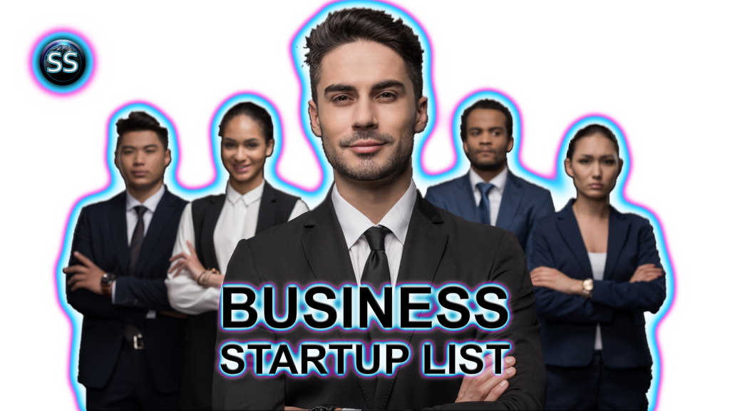online business startup list with skyshot digital design, website, online marketing, web content, print design, business 1.2
