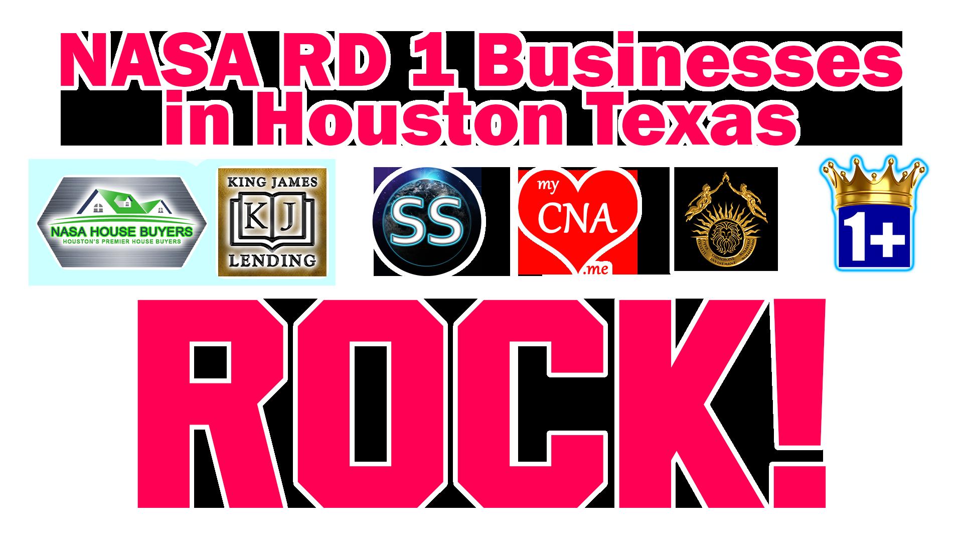 NASA RD 1 Businesses in Houston Texas